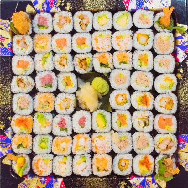 Maguro Handroll Platter