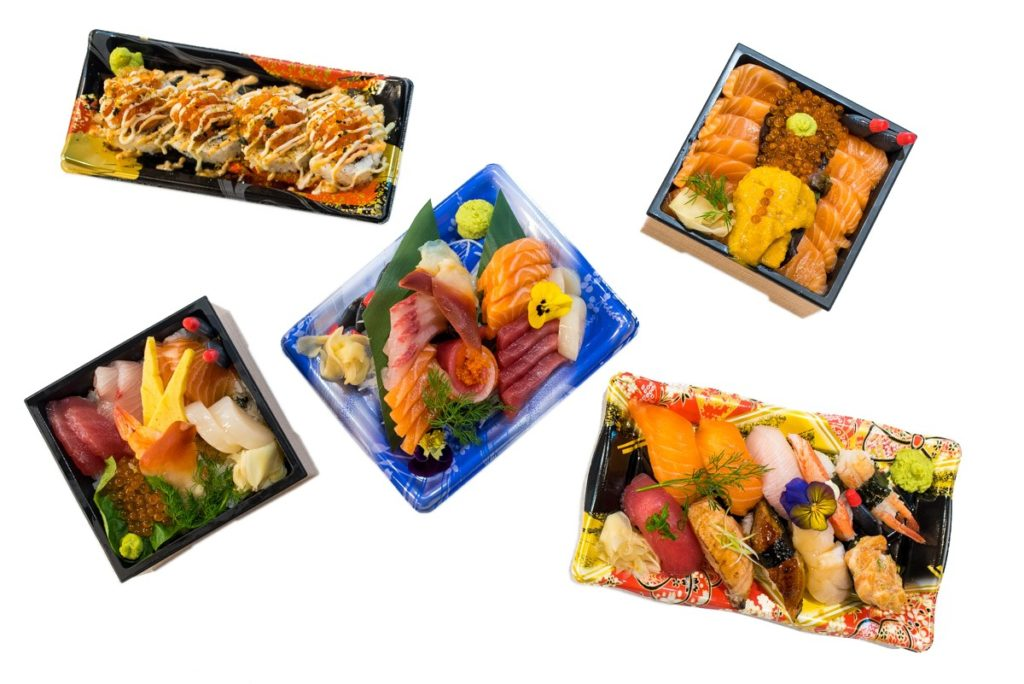 Sashimi Sushi Packs