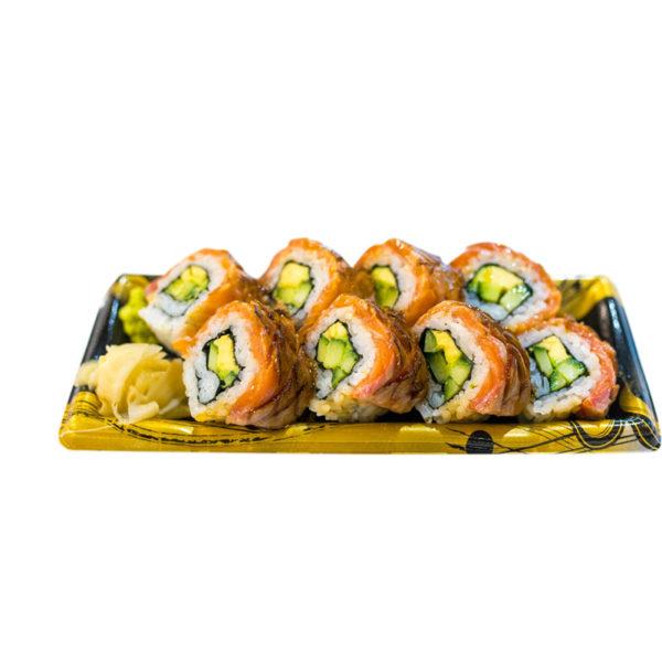 Seared Salmon Uramaki
