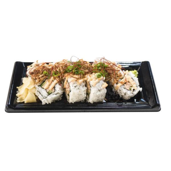 Spicy Crispy Cooked Tuna Uramaki