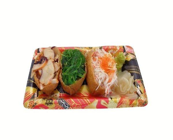 Mixed Inari Gunkan