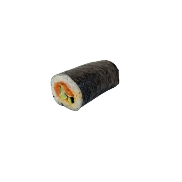 Spicy Salmon and Cucumber Handroll