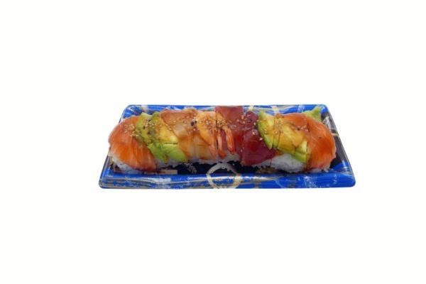 Rainbow Roll Uramaki