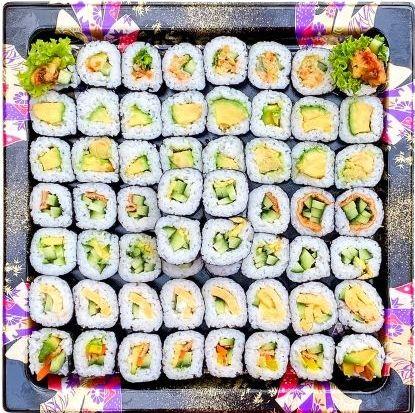 Vegetarian Handroll Platter